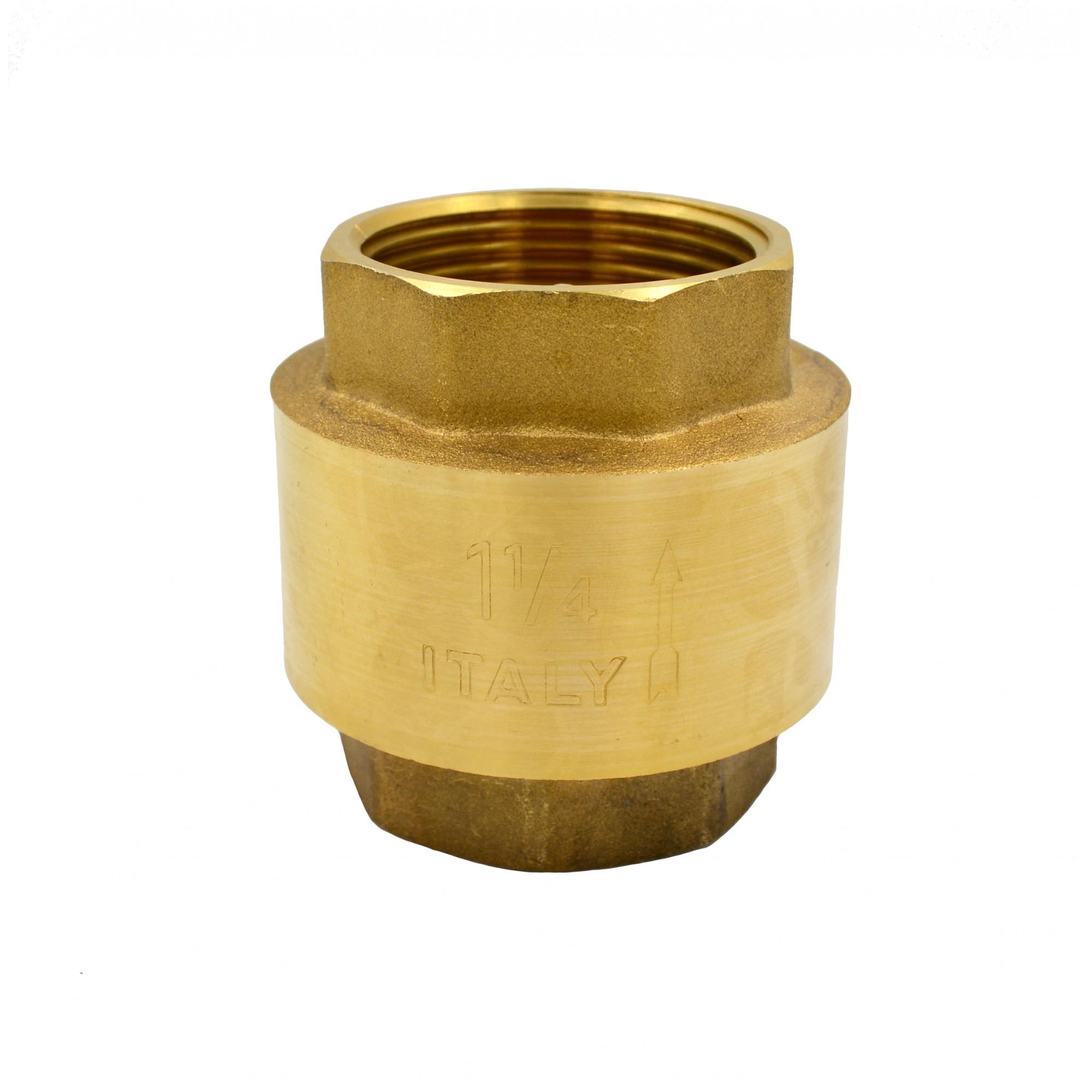 "Обратный клапан 1""1/4 J.G. пластиковый шток J.G."