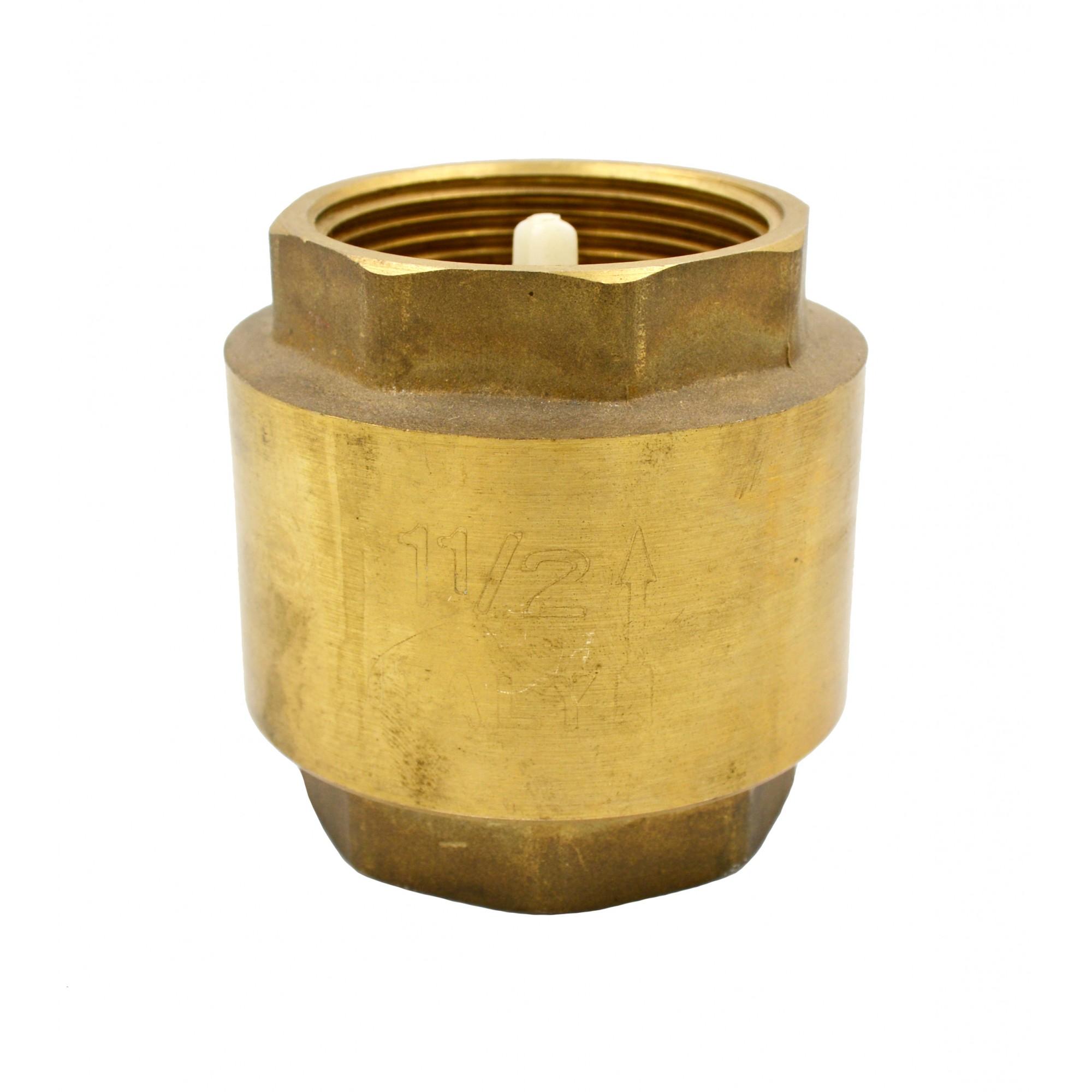 "Обратный клапан 1""1/2 J.G. пластиковый шток J.G."