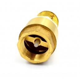 Обратный клапан 3/4 с сеткой пластиковый шток J.G. J.G.