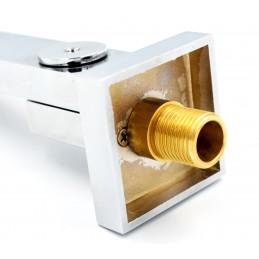 Излив для душа и ванной скрытого монтажа ANGO, плоский, поворотный, 190 мм ANGO