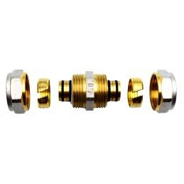Сгон для металлопластиковой трубы  16*16 J.G. АВ с проточкой J.G.