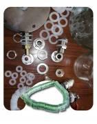 Прокладки силиконовые, прозрачный ПВХ